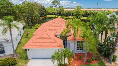 Stuart Single Family Home For Sale: 4876 SE Mariner Village Lane