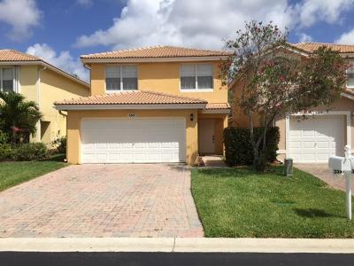 West Palm Beach Single Family Home For Sale: 3347 Blue Fin Drive