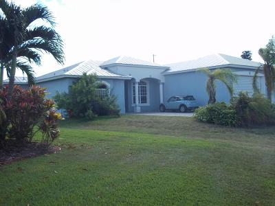 St Lucie County Single Family Home For Sale: 2643 SW Harem Circle
