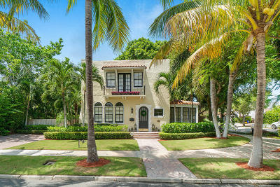 West Palm Beach Single Family Home For Sale: 701 Kanuga Drive