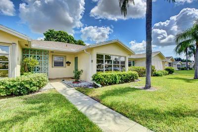 Delray Beach Single Family Home For Sale: 5337 Lakefront Boulevard #B