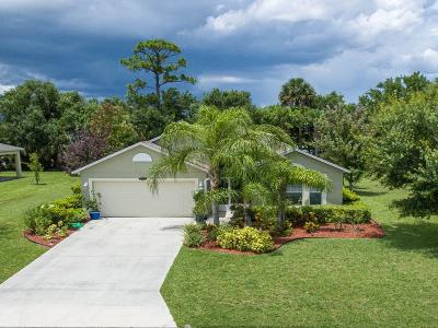 Vero Beach Single Family Home For Sale: 4835 Ashley Lake Circle