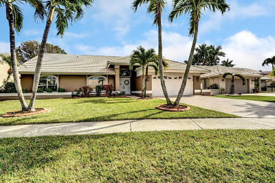 Lake Worth Single Family Home For Sale: 5917 Wedgewood Village Circle