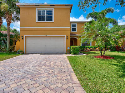 West Palm Beach Single Family Home Contingent: 5772 Gypsum Place