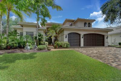 Boynton Beach Single Family Home For Sale: 8890 Raven Rock Court