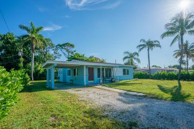 Fort Lauderdale Single Family Home Contingent: 2517 SW 7th Street
