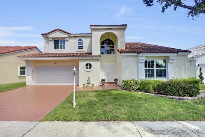 Palm Beach Gardens Single Family Home For Sale: 1051 Siena Oaks Circle E
