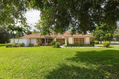 Wellington Single Family Home For Sale: 14598 Halter Road