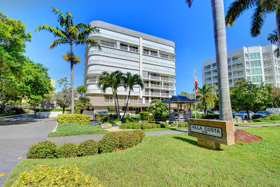 Highland Beach Condo For Sale: 3210 S Ocean Boulevard #Ph-2