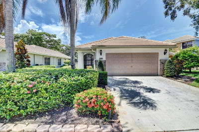 Delray Beach Single Family Home For Sale: 4365 Sherwood Forest Drive