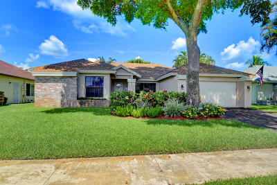 Boca Raton Single Family Home For Sale: 18300 181st Circle S