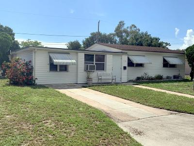 Vero Beach Single Family Home For Sale: 1516 14th Court