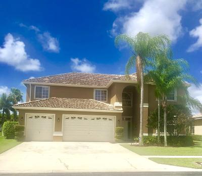 Lake Worth Single Family Home For Sale: 6400 Bridgeport Lane