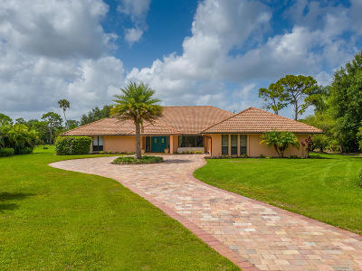 Martin County Single Family Home For Sale: 3862 SW Bimini Circle