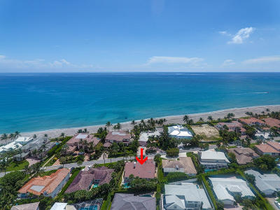 Jupiter Inlet Colony Single Family Home For Sale: 41 Ocean Drive