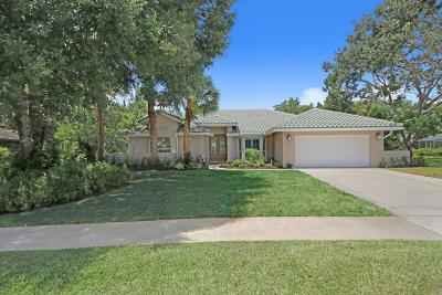 Jupiter Single Family Home For Sale: 232 Longshore Drive