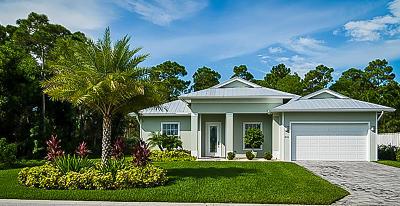 Hobe Sound Single Family Home For Sale: 8460 SE Apple Lane