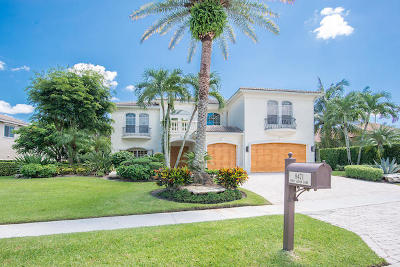 West Palm Beach Single Family Home For Sale: 8471 Egret Lakes Lane