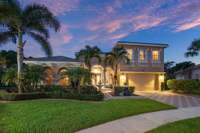 West Palm Beach Single Family Home For Sale: 8660 Via Prestigio E