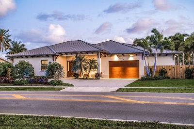 North Palm Beach Single Family Home For Sale: 748 Lighthouse Drive