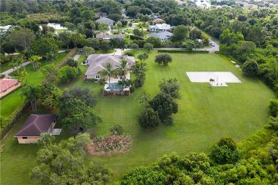 Martin County Single Family Home For Sale: 965 SE Martin Cove Place