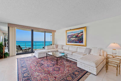 Palm Beach Condo For Sale: 3360 S Ocean Boulevard #5bll
