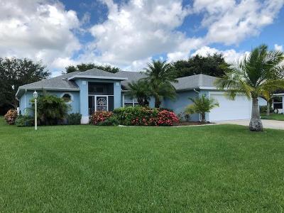 Vero Beach Single Family Home For Sale: 375 53rd Circle