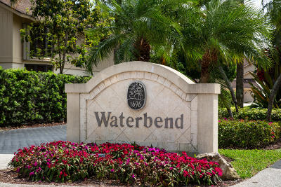 Jupiter Condo For Sale: 17109 Waterbend Drive #222