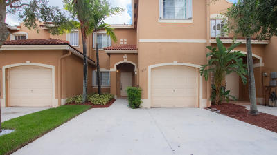 Miami-Dade County Townhouse For Sale: 930 SW 147th Court