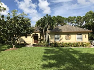 West Palm Beach Single Family Home For Sale: 14450 66th Trail