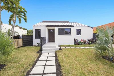 West Palm Beach Single Family Home Contingent: 524 Upland Road
