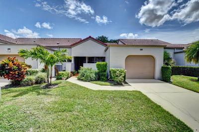 Boynton Beach Single Family Home For Sale: 5838 Parkwalk Circle W