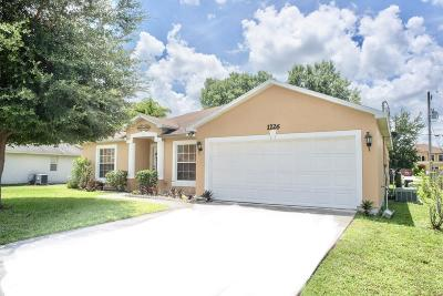 Saint Lucie West Single Family Home For Sale: 1226 SW Asturia Avenue