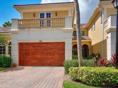 Palm Beach Gardens Townhouse For Sale: 102 Renaissance Drive