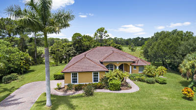 Fort Pierce Single Family Home For Sale: 1651 Timberlake Drive