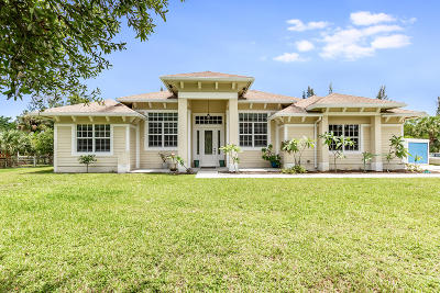 Jupiter Single Family Home For Sale: 18382 120th Trail Trail