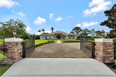 Jupiter Single Family Home For Sale: 16814 Mellen Lane