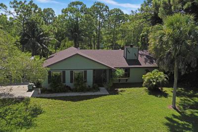 Palm Beach Gardens Single Family Home Pending: 15736 80th Drive