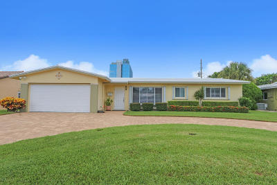 Pompano Beach Single Family Home For Sale: 1551 SE 24th Avenue