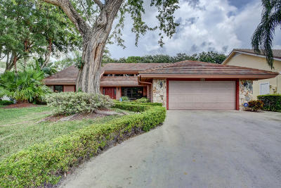 Palm Beach Gardens Single Family Home For Sale: 1025 Shady Lakes Circle