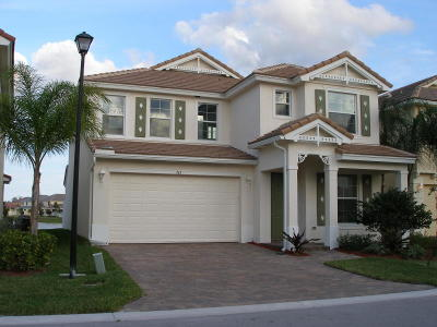 Royal Palm Beach Single Family Home For Sale: 763 Belle Grove Lane