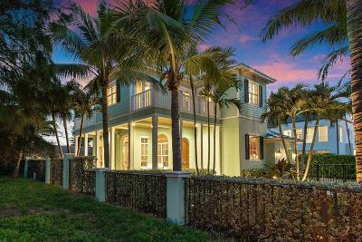 Ocean Ridge Single Family Home For Sale: 28 Tropical Drive