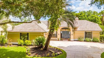 Jupiter Single Family Home For Sale: 6349 Winding Lake Drive
