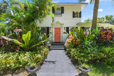 West Palm Beach Single Family Home For Sale: 3218 Spruce Avenue