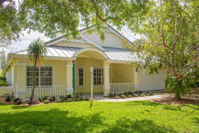 Hobe Sound Single Family Home For Sale: 5380 SE Acadia Terrace
