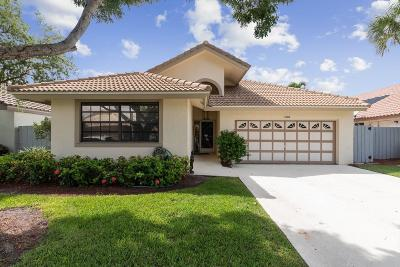 Boynton Beach Single Family Home For Sale: 108 Executive Circle