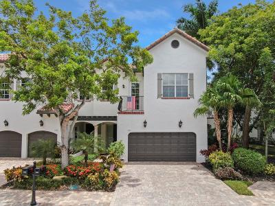 Delray Beach Townhouse For Sale: 1401 Estuary Trail