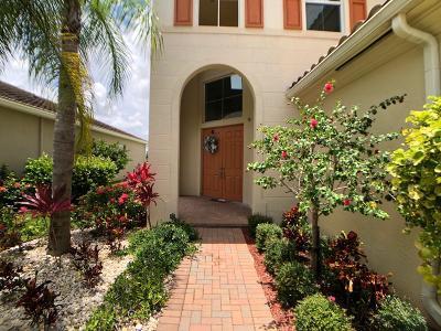 Royal Palm Beach Single Family Home For Sale: 2910 Bellarosa Circle E