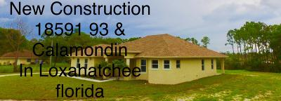 Loxahatchee Single Family Home For Sale: 18591 93rd Road