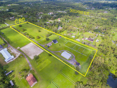 Loxahatchee Groves Single Family Home For Sale: 1752 C Road